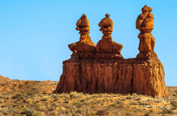 Entrada Photograph - The Three Goblins by Robert Bales