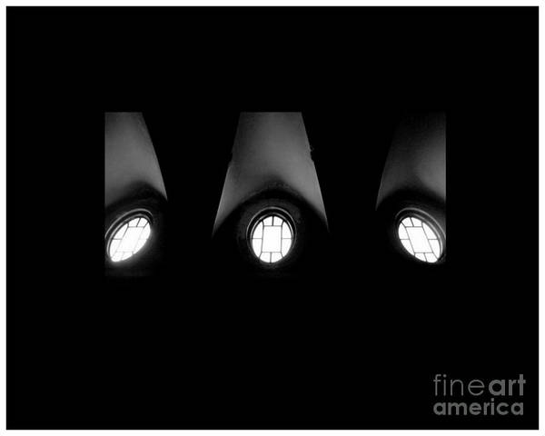 Cantrell Wall Art - Photograph - The Three Windows Of East View  by Tammy Cantrell