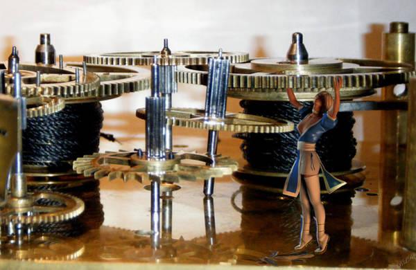 Aira Wall Art - Digital Art - The Time Keeper by Tea Aira