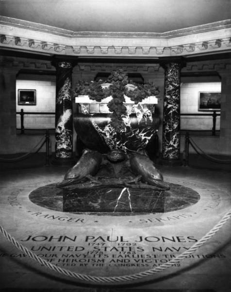 John Paul Jones Photograph - The Tomb Of John Paul Jones 1747-1792 by Everett