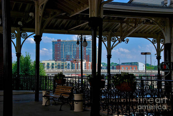 Photograph - The Trainstation In Nashville by Susanne Van Hulst