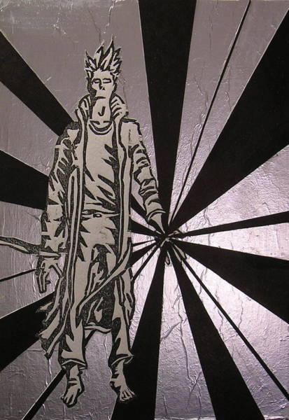 Dude Mixed Media - The Transcending Man by Nicholas Vermes