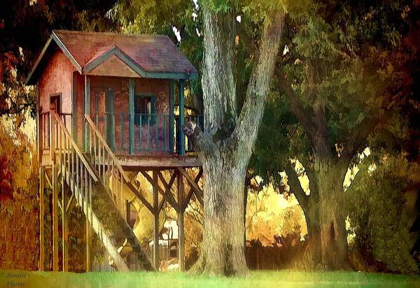 Photograph - The Treehouse by Bonnie Willis