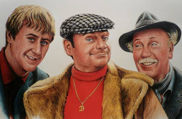 Bbc Painting - The Trotters by Andrew Read