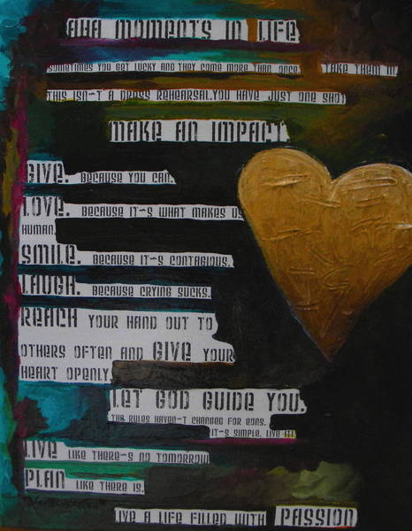 Painting - The Truth Is by Patti Schermerhorn