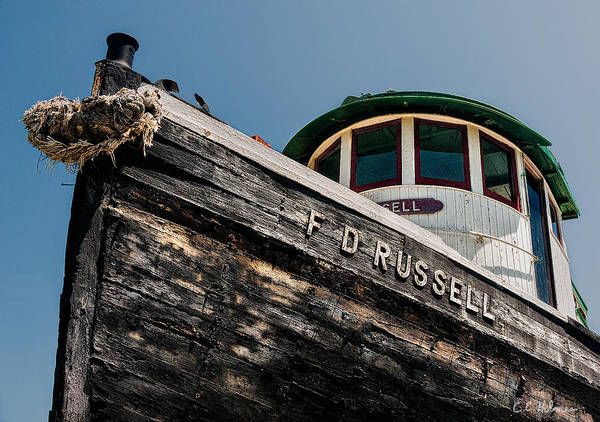 Photograph - The Tug F.d. Russell by Christopher Holmes