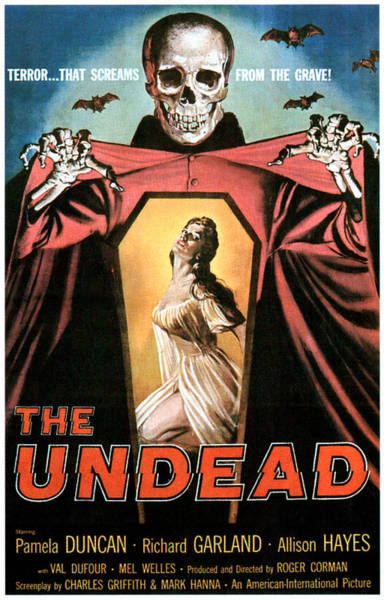 The Undead Photograph - The Undead, Pamela Duncan, 1957 by Everett