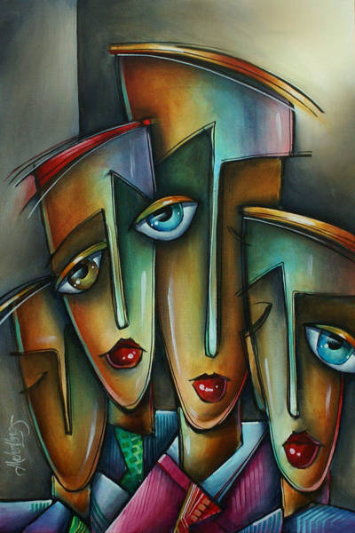 Emo Painting - The Union by Michael Lang