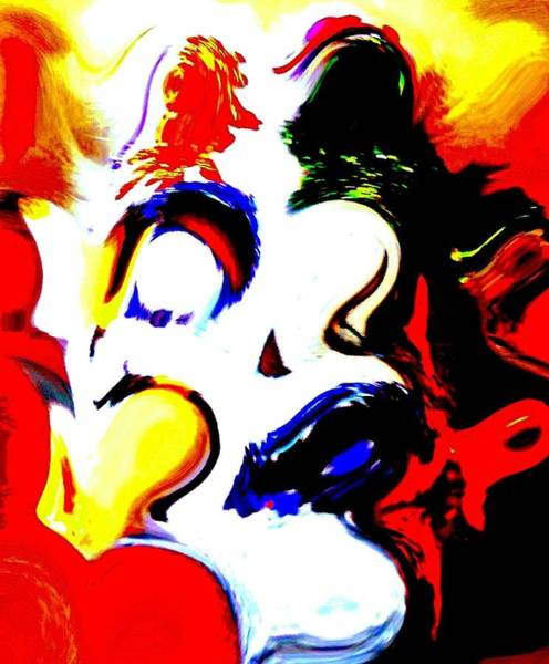 Primary Colors Mixed Media - The Unmasking Of Youth by Jackie Bodnar