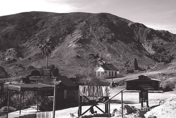 Photograph - The Upper Village Of Calico Ghost Town by Susanne Van Hulst