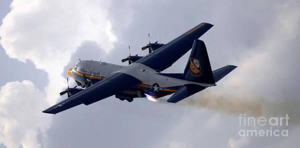 Photograph - The U.s. Marine Corps C-130 Hercules by Stocktrek Images
