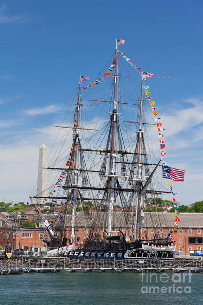 Photograph - The Uss Constitution by Susan Cole Kelly