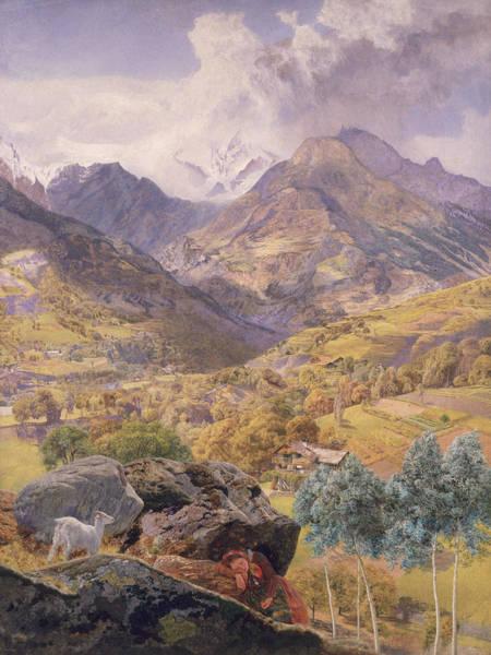 Brett Wall Art - Painting - The Val D'aosta by John Brett