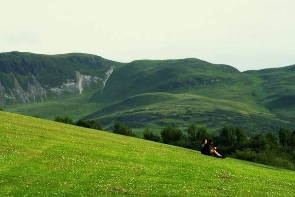 Fairhill Photograph - The Valley  by Lovella Dagum