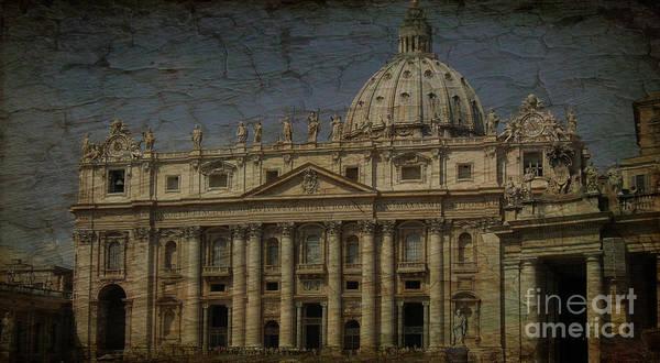 Wall Art - Photograph - The Vatican's Pride Stato Della Citt Del Vaticano by Lee Dos Santos