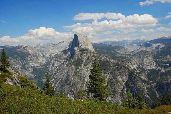 Photograph - The View From Glacier Point by Lynn Bauer