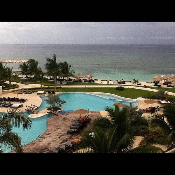 Jamaica Photograph - The #view From My #balcony Rite Now by Walik Goshorn