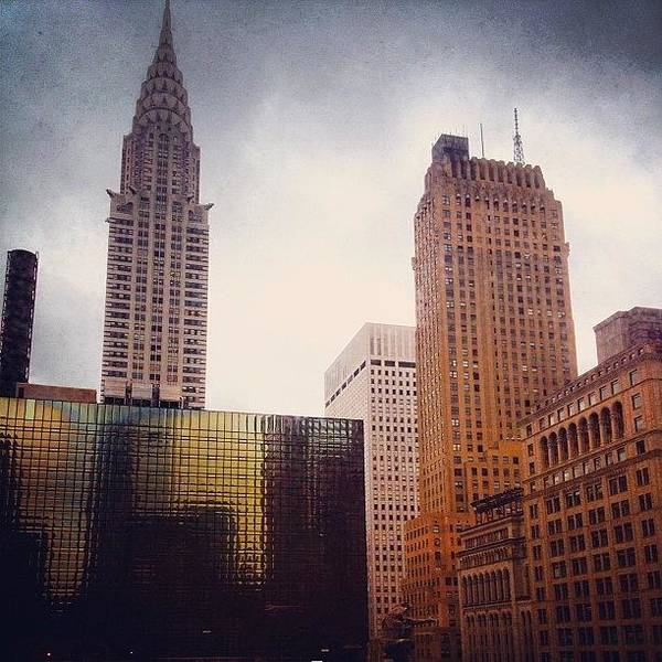 Gotham Wall Art - Photograph - The View From The Therapist's Office by Trey Rucker