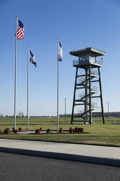 Wall Art - Photograph - The Watch Tower Of A Correctional by Roberto Westbrook
