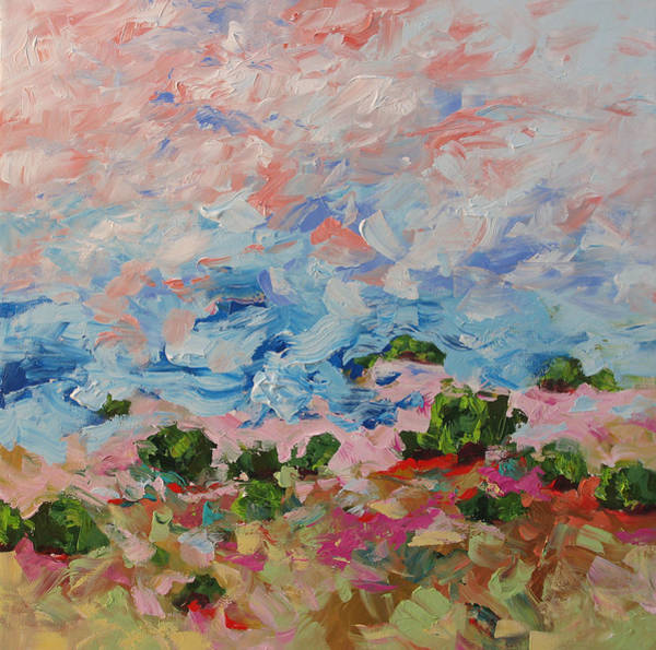 Monfort Painting - The West Wind by Linda Monfort