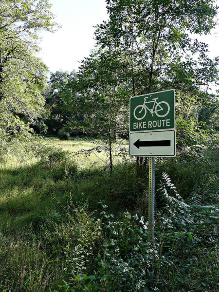 Photograph - The Wild Side Of Biking by Richard Reeve