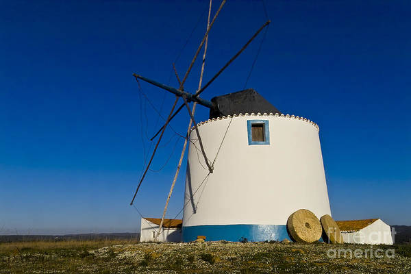 Photograph - The Windmill by Heiko Koehrer-Wagner