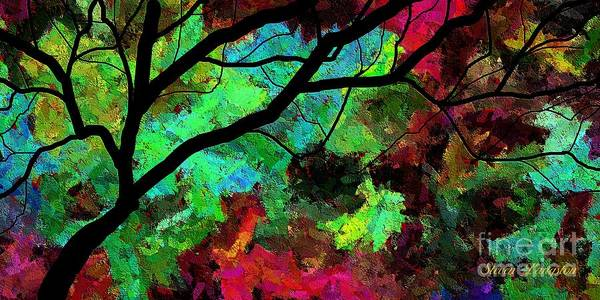 Wall Art - Painting - The Wonder Of Woods by Steven Lebron Langston