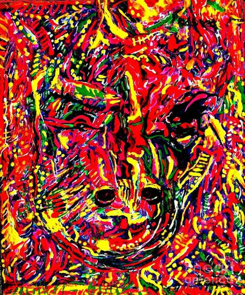 Sax Painting - The Year Of The Ox by Darlyne Sax