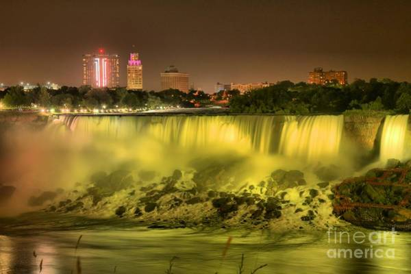 Niagara Falls State Park Photograph - The Yellow American by Adam Jewell