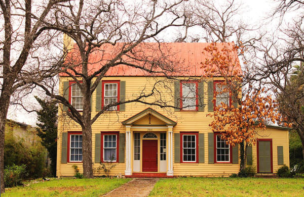 Photograph - The Yellow House by Sarah Broadmeadow-Thomas