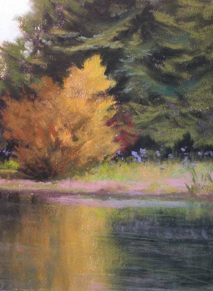 Wall Art - Painting - The Yellow Tree by Paula Ann Ford