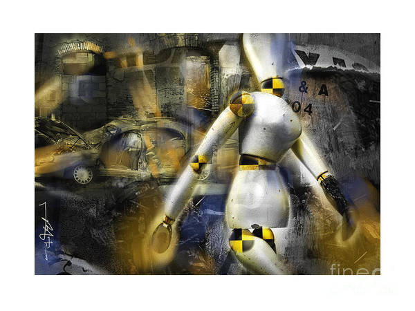 Wall Art - Digital Art - They Say I'm A Dummy To Work Here . . . by Bob Salo