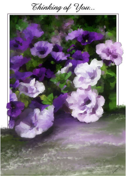 Painting - Thinking Of You  by Susan Kinney