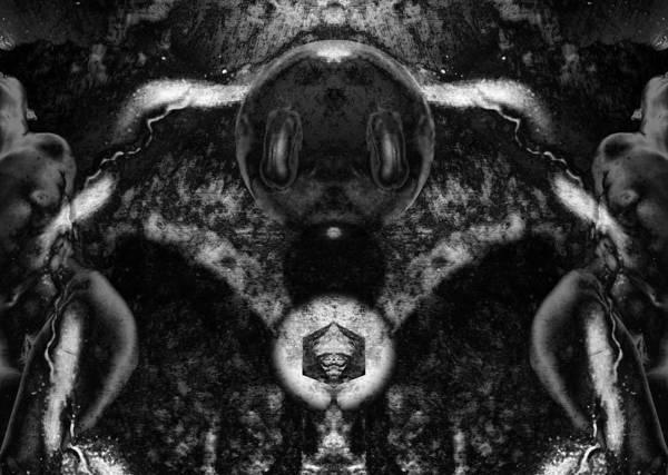 Photograph - Third Sphere Transformed by David Kleinsasser