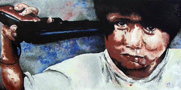 Penetrate Painting - Third World by Brian Carlton