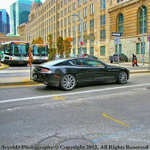 Aston Martin Photograph - This Beautiful Aston Martin Rapide by Aryeh D