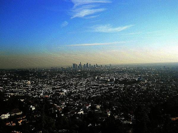 Wall Art - Photograph - This Is The City Los Angeles California by Eve Paludan