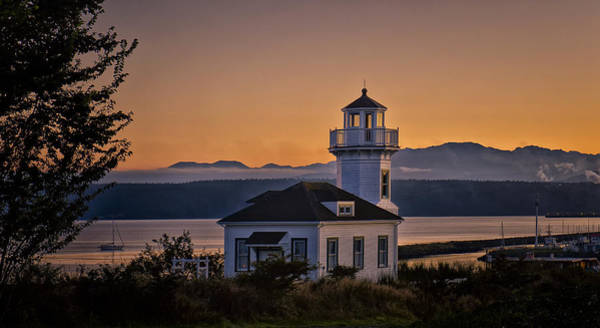 Port Townsend Photograph - This Is Washington State No. 11 - Port Townsend Light House by Paul W Sharpe Aka Wizard of Wonders