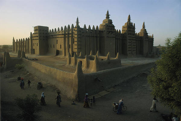 Wall Art - Photograph - This Islamic Mosque Was Built Of Mud by James L. Stanfield