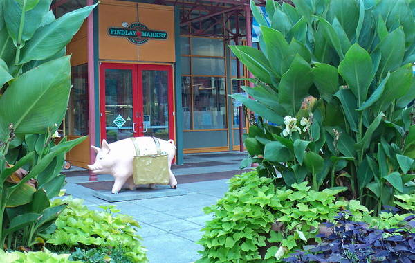 Findlay Market Photograph - This Little Piggy Went To The Market by Jennifer Kelly