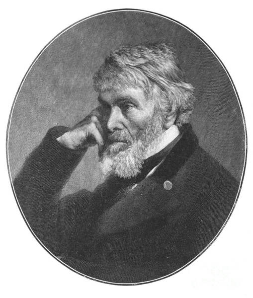 Photograph - Thomas Carlyle (1795-1881) by Granger