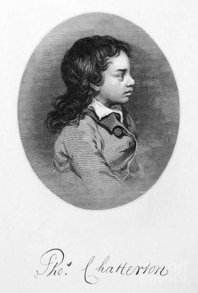 Photograph - Thomas Chatterton by Granger