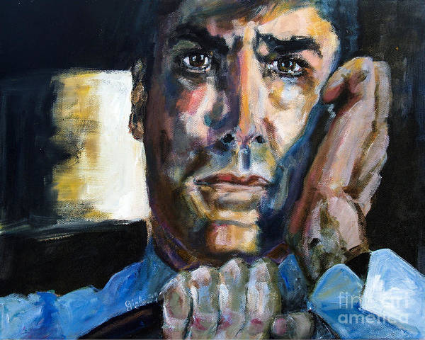 Painting - Thomas Gibson In The Reaper Returns by Ginette Callaway