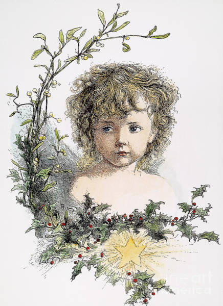 Wall Art - Photograph - Thomas Nast: Christ Child by Granger