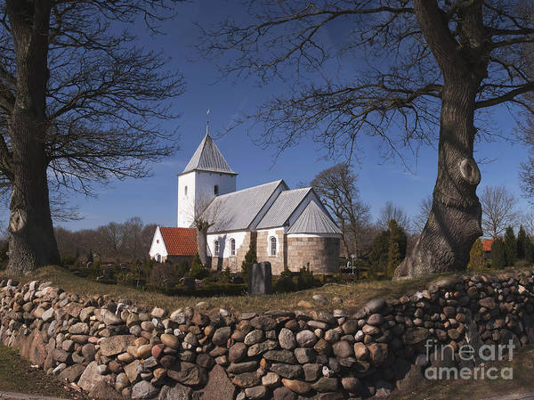 Wall Art - Photograph - Thorstrup Church by Wedigo Ferchland