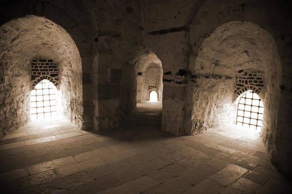 Photograph - Three Arches In Qaitbay by Donna Corless