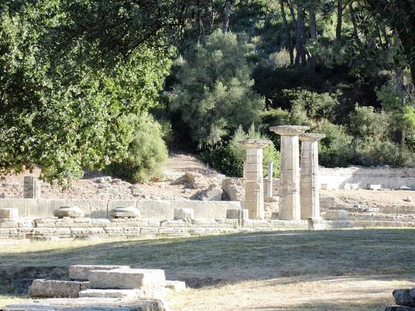 Photograph - Three Pillars by John Shiron