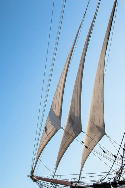 Photograph - Three Sails by Peter Dyke