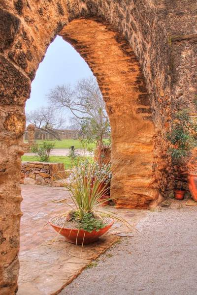 Photograph - Through The Archway II by Sarah Broadmeadow-Thomas