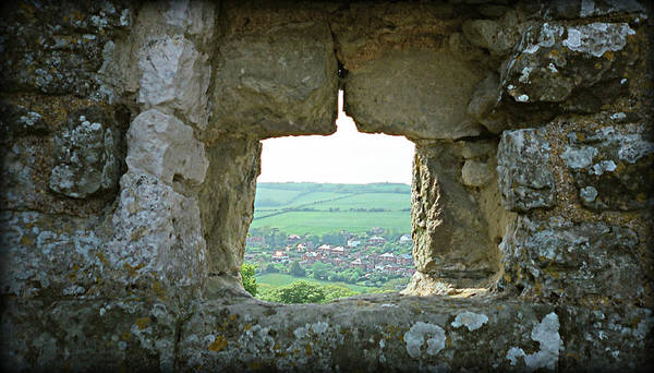 Photograph - Through The Castle Wall by Marilyn Wilson